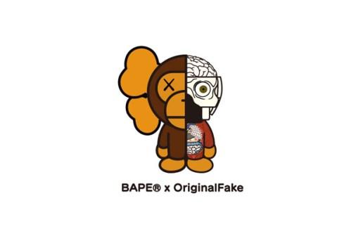 OriginalFake x A Bathing Ape 2011 Spring Collection