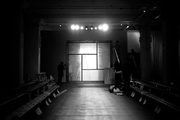 Peter Nguyen: Robert Geller 2011 Fall/Winter Backstage