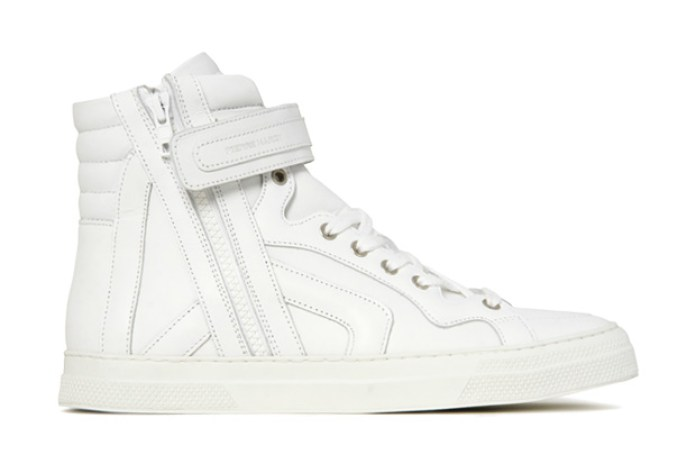 Pierre Hardy White High Top Sneaker