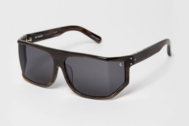 Raf Simons x Linda Farrow Geometric Sunglasses