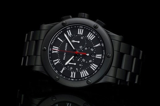 Ralph Lauren Sporting Chronograph Black Ceramic