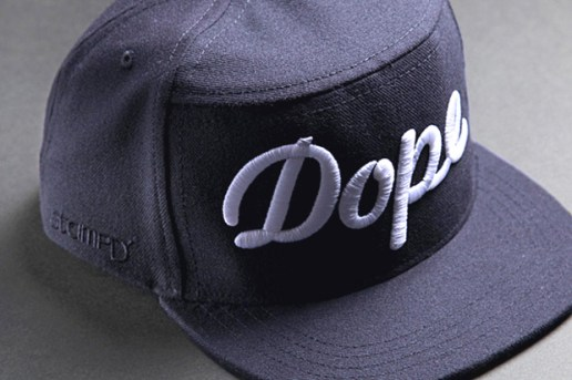 "Stampd' x Ampal Creative ""Dope"" Cap Midnight Blue"