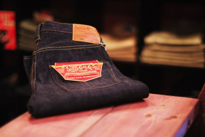 Sugar Cane SC41947 Denim