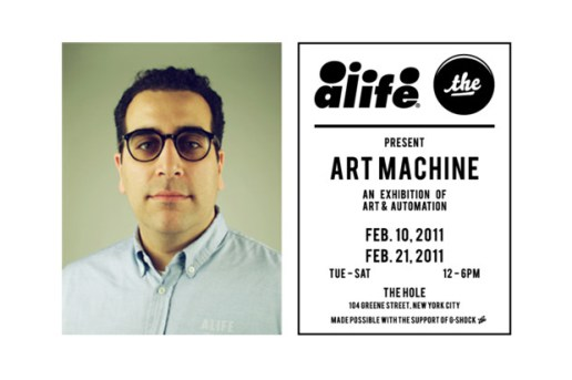 "The Hole and ALIFE present ""ART MACHINE"""