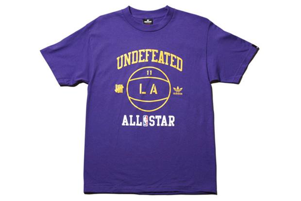 UNDFTD x adidas NBA All-Star Tees