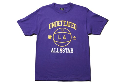 UNDFTD x adidas NBA All-Star Tees
