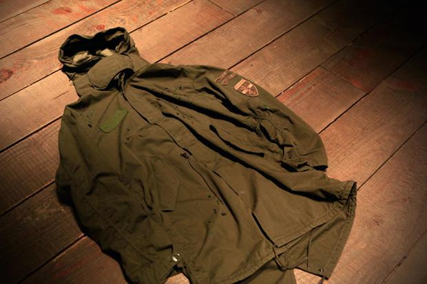uniform experiment DAMAGED MODS COAT