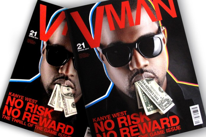 VMAN Issue 21 featuring Kanye West