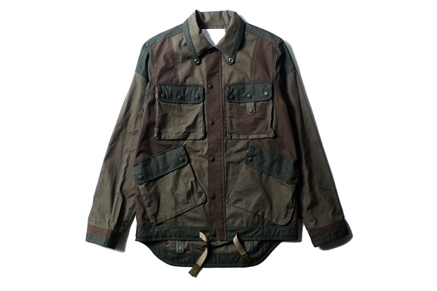 White Mountaineering 3 Cloth Military Jacket