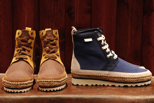 White Mountaineering Espadrille Sneakers