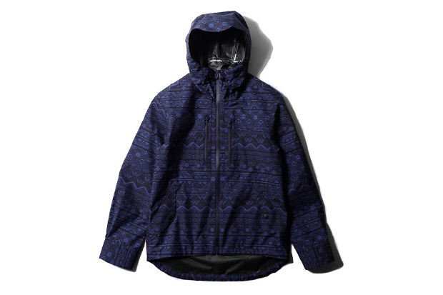 White Mountaineering GORE-TEX PACLITE Shell Primitive Pattern Short Jacket