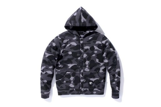A Bathing Ape 1st Camo Snap Button Hoodie