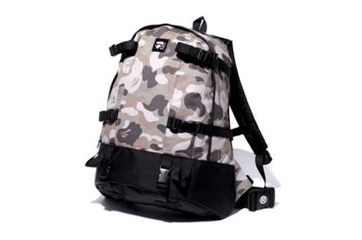 A Bathing Ape ABC Camo Day Bag