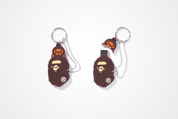"A Bathing Ape ""Ape Head+Baby Milo"" 4GB USB Stick"