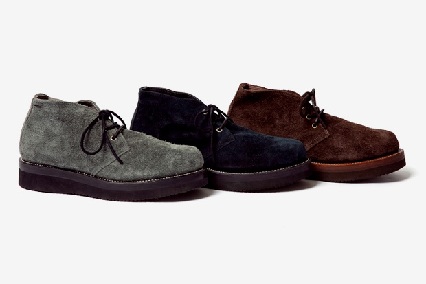 Ace Boots Suede Chukka