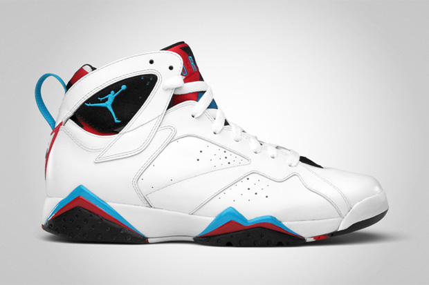 Air Jordan VII White/Orion Blue