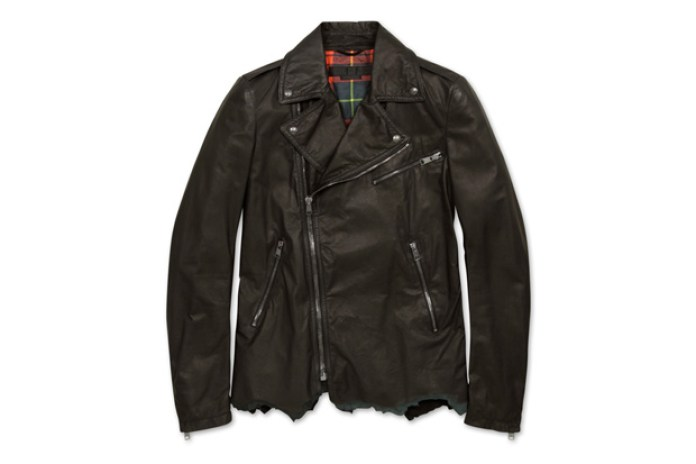 Alexander McQueen Check Riders Jacket