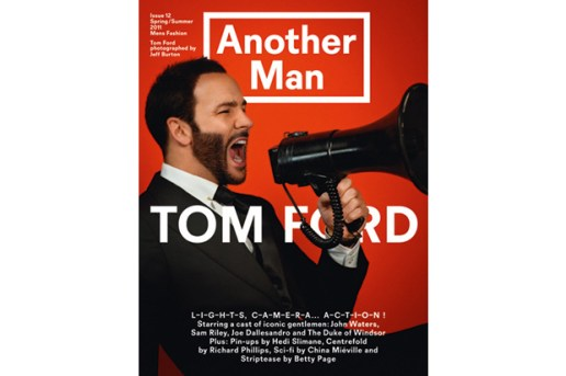 Another Man Issue 12 featuring Tom Ford