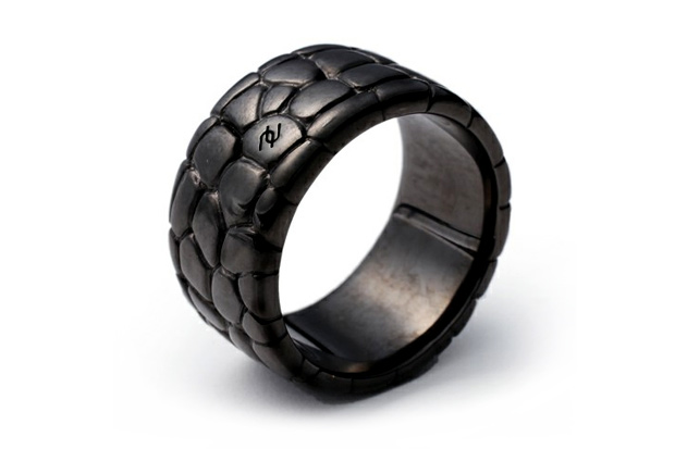 "AZ ""Crocodile"" Ring"