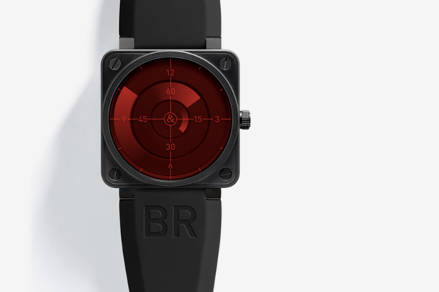 "Bell & Ross BR 01 ""Red Radar"""