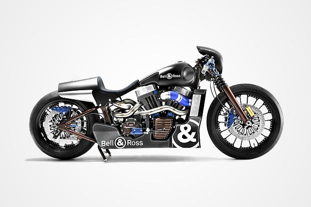 Bell & Ross x Shaw Harley Davidson Nascafe Racer