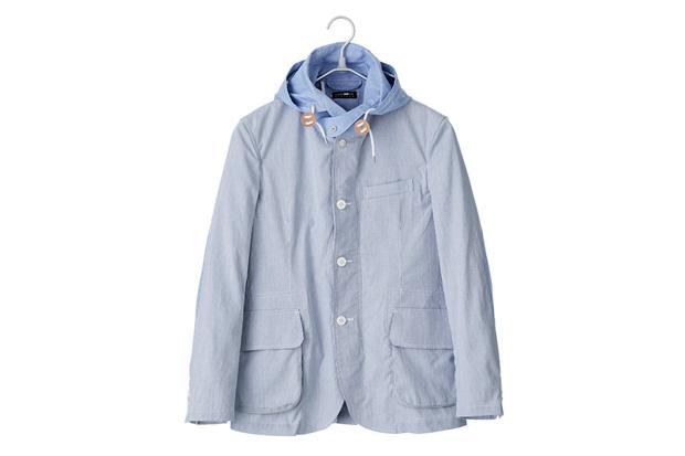 CASH CA Striped Hoodie Jacket