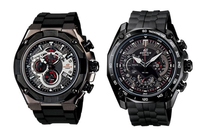 Casio EDIFICE Black Label Collection