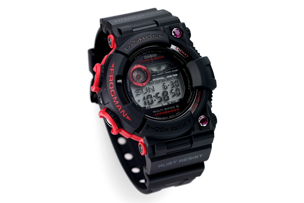 Casio G-Shock Ruby Atomic Frogman