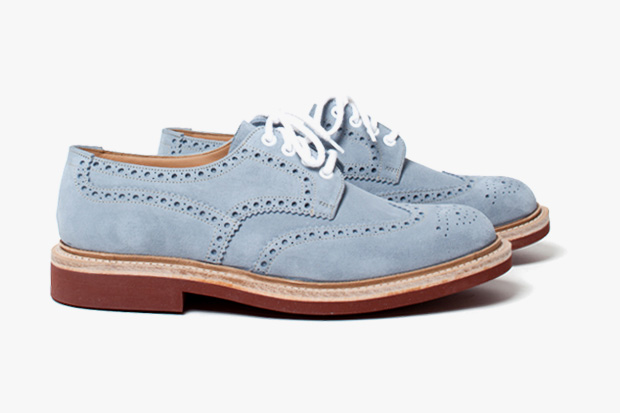 Church's Blakeney Suede Sky Brogue