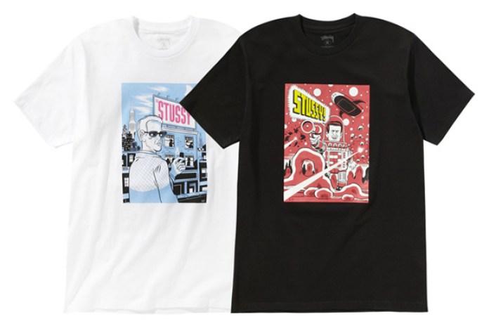 Daniel Clowes x Stussy 2011 Spring T-Shirts