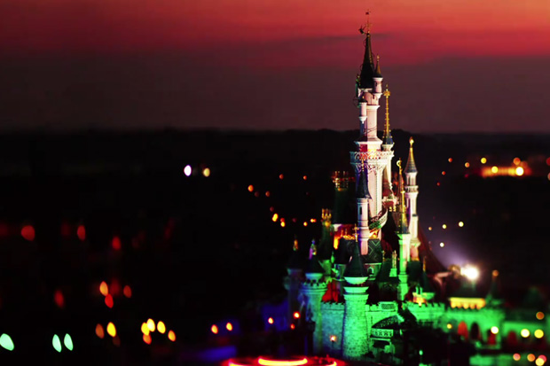 Disneyland Paris Tilt-Shift Video