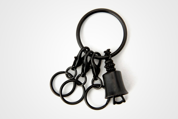 End Key Bell Keychain