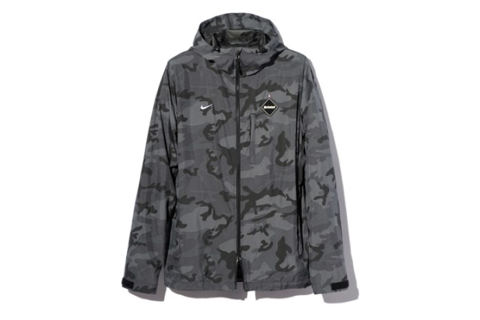 F.C.R.B. CAMOUFLAGE TRAINING JACKET