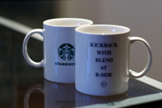 "fragment design x Starbucks ""Kickback with Blend at B-Side"""