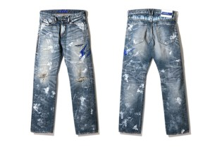 fragment design x Vanquish Denim Collection