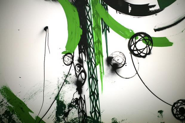 """Futura """"New Works"""" Exhibition @ Galerie Jerome de Noirmont"""