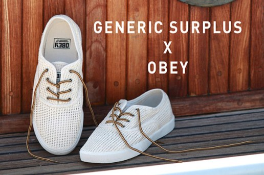 Generic Surplus x Obey Borstal Sneakers