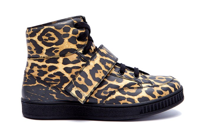 Givenchy Leopard Print Sneakers