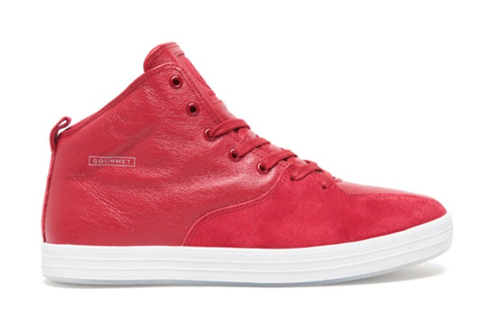 Gourmet Quattro Skate Red/White