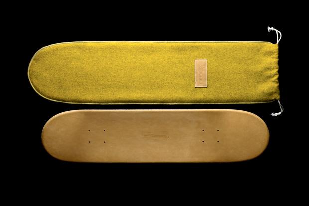 Greg Hervieux x Domeau & Pérès Leather Skate Deck