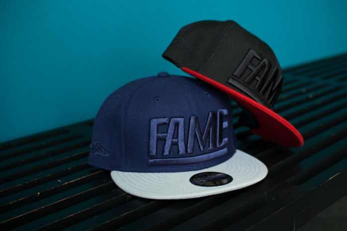 "Hall of Fame ""Fame Block"" Fitted Caps"