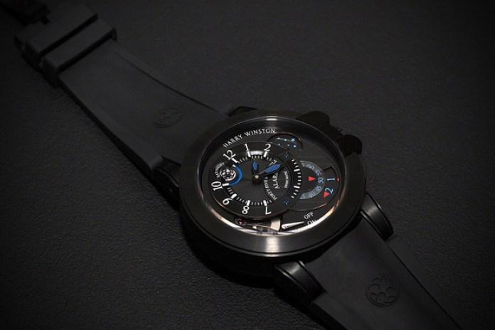 Harry Winston Project Z6 Black Edition Alarm Watch