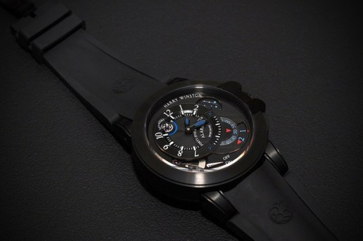 Harry Winston Project Z6 Black Edition Alarm Watch