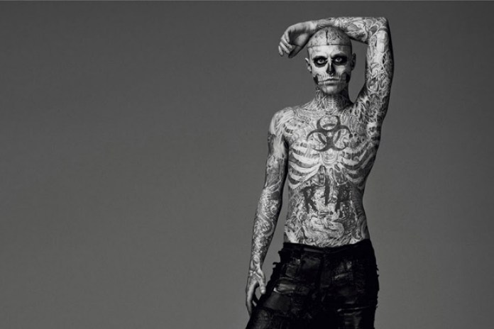 Hint: The Incredible But True Story of How Nicola Formichetti Got Rick Genest to Model in Mugler