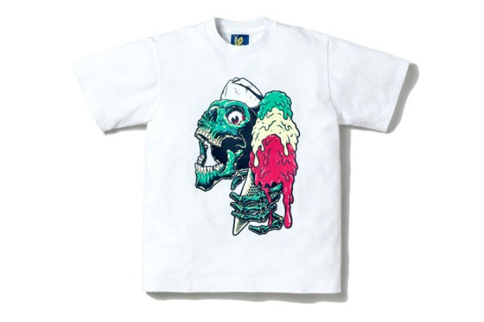 "ICECREAM ""Ice Screaming Skull"" T-Shirt"