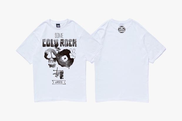 "J. Rocc x Stussy ""Some Cold Rock Stuf"" T-Shirt"