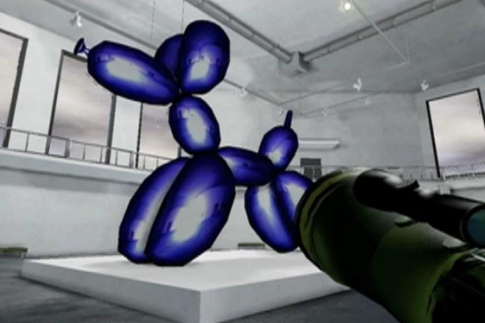 Jeff Koons Must Die!!! The Video Game