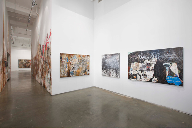 "José Parlá ""Walls, Diaries, and Paintings"" Exhibition @ Bryce Wolkowitz Gallery Recap"