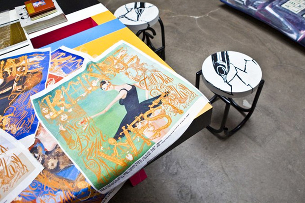 Kanye West x M/M (Paris) Silk Scarves