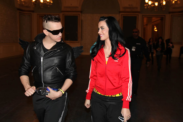 """Katy Perry x Jeremy Scott """"adidas is all in"""" Behind the Scenes Shoot"""